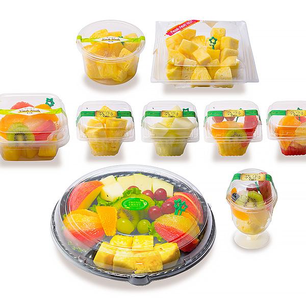フレッシュデザート株式会社 商品ラインアップ:カットフルーツシリーズ