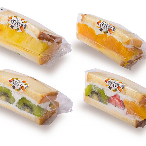 フレッシュデザート株式会社 商品ラインアップ:フルーツサンドシリーズ
